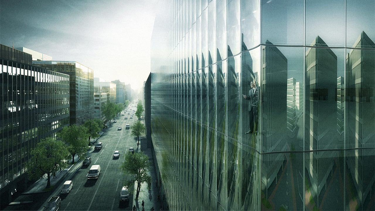 Rex Radically Rethinks The Glass Curtain Wall Co Design