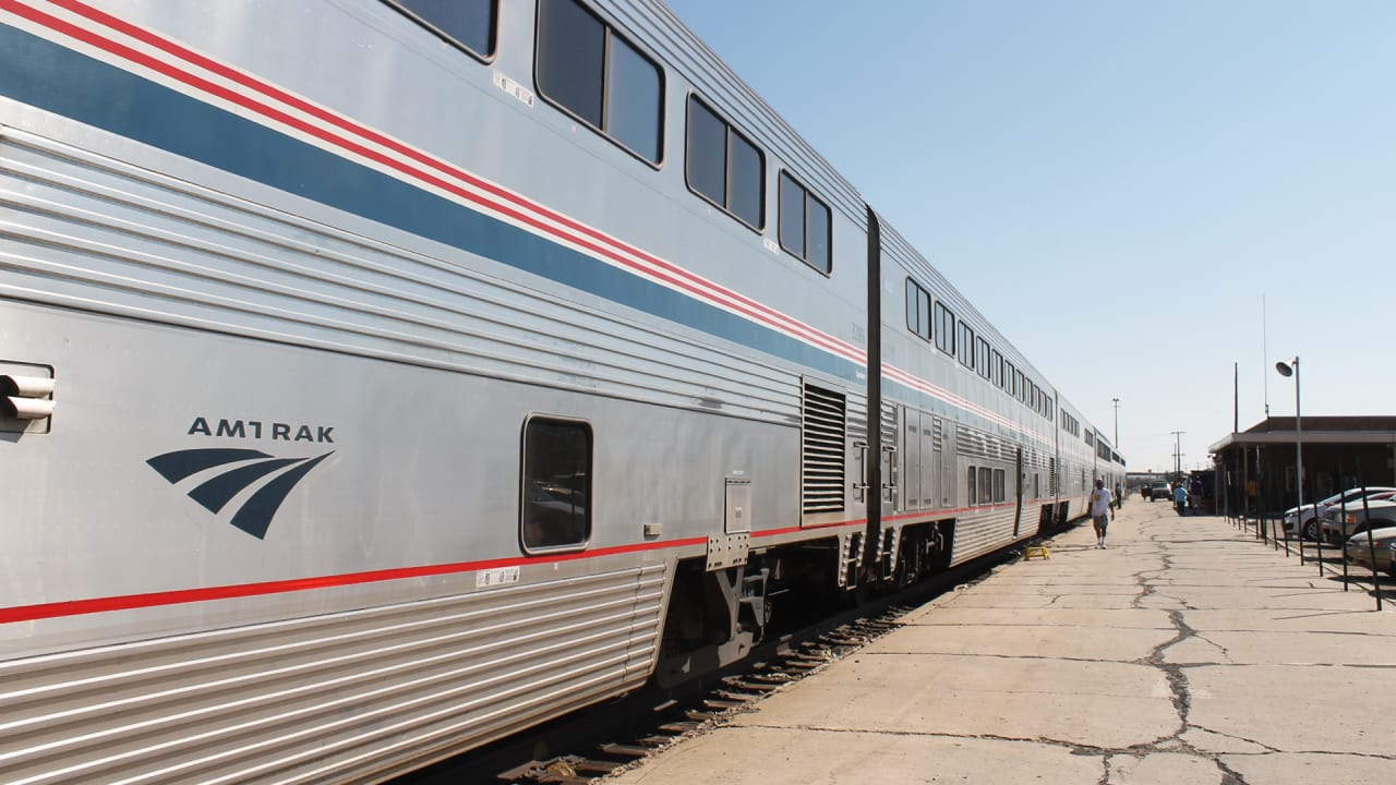 This Redesigned Map Of US Train Routes Might Make You Fast Company - Amtrak map western us