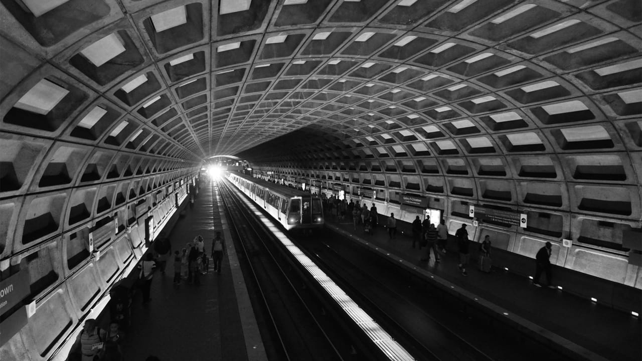 The LittleKnown History Of Why Washington DC Is A Brutalist - Washington dc map conspiracy