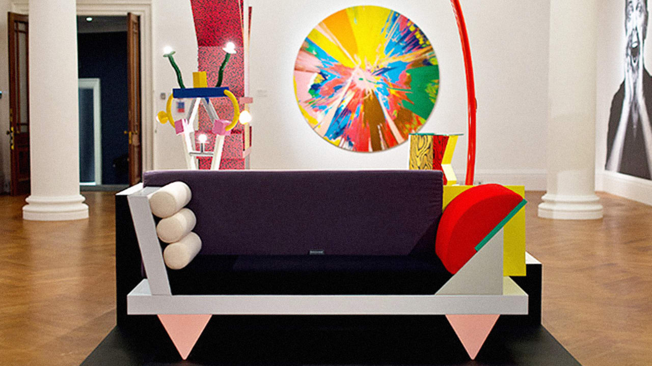 Postmodern Design Complete Design Furniture Graphics Architecture Interiors ~ Check out david bowie s incredible collection of memphi