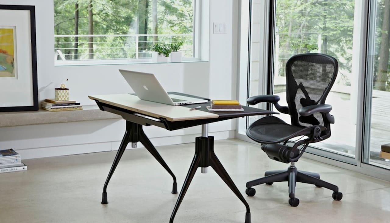 Herman Miller Unveils The Ultimate Desk For Workaholics