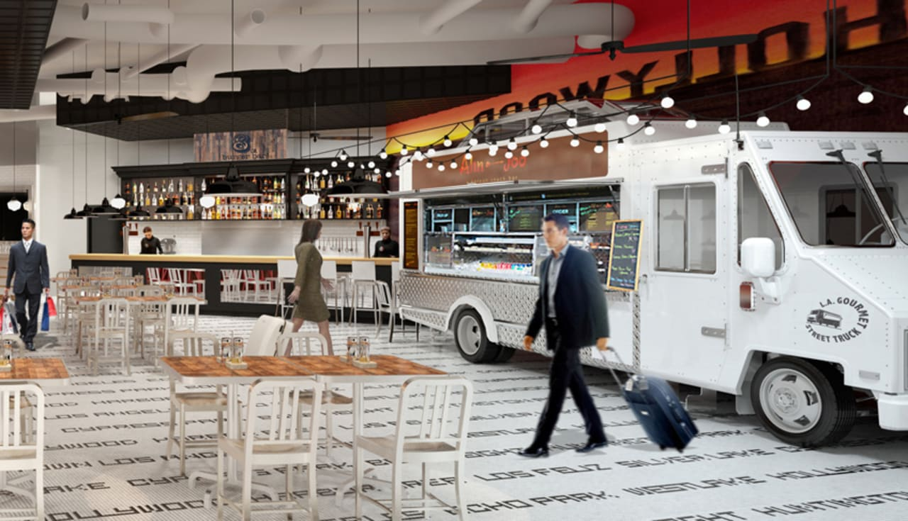 L A Gets Another Food Truck But This Time In The Airp