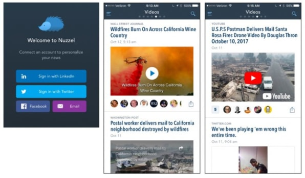 fastcompany.com - Nuzzel, a news app beloved by influential types, adds LinkedIn stories