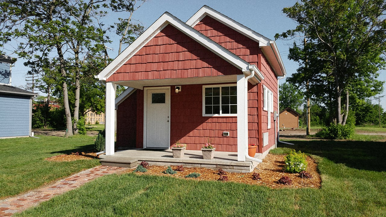 Houses Pictures These Tiny Houses Help Minimum Wage Workers Become Home  Fast Company
