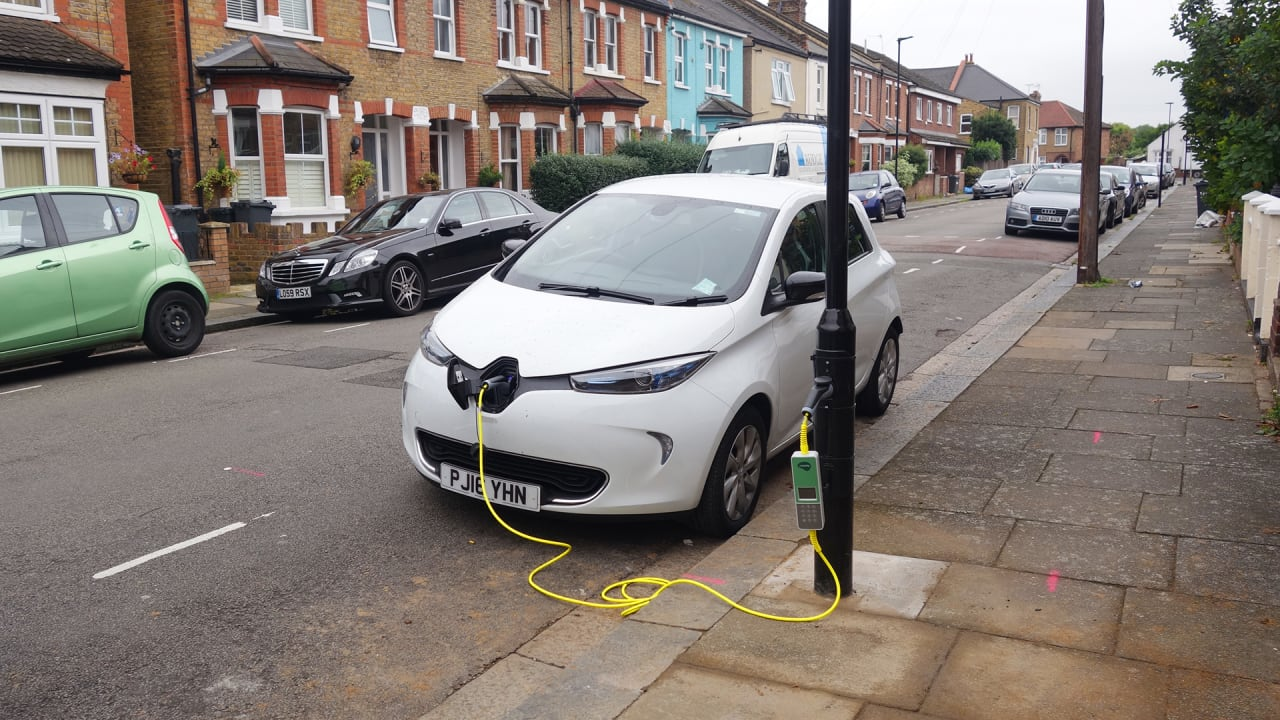 Electric Car Fast Charging Stations