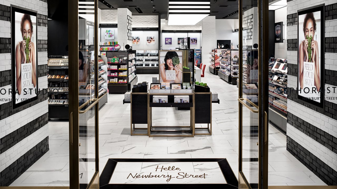 Sephora is experimenting with a boutique format to prep for New ideas for retail stores