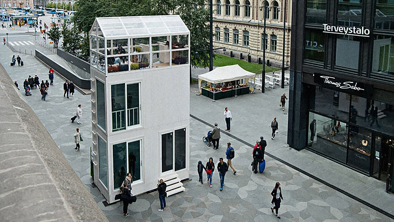 This Three Story Tiny House Fits In The Footprint Of A