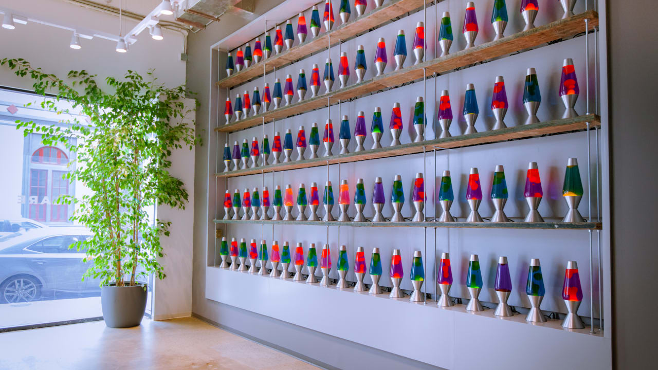 The Hardest Working Office Design In America Encrypts Your Data–With Lava Lamps