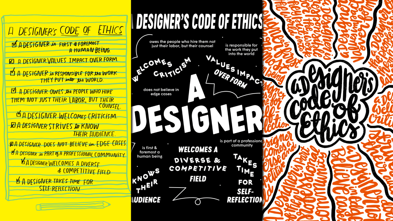 Graphic Design Code Of Conduct