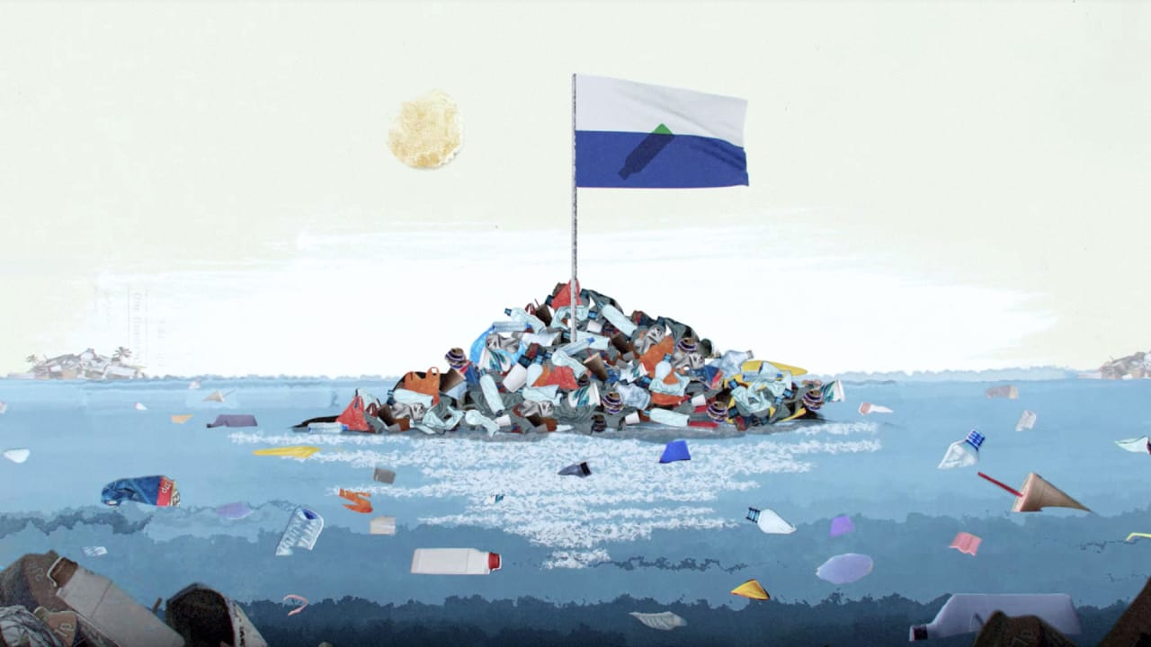 The Great Pacific Garbage Patch Now Has Its Own Visual Identity Design
