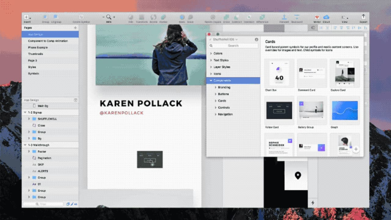 New Invision Design Tool