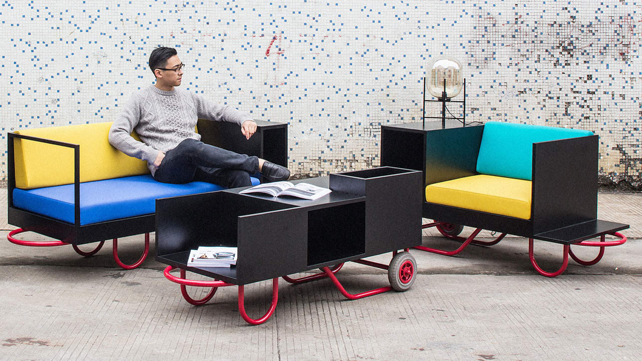 Move Over, Ikea: This Ultra-Portable Furniture Adapts To Any Apar…