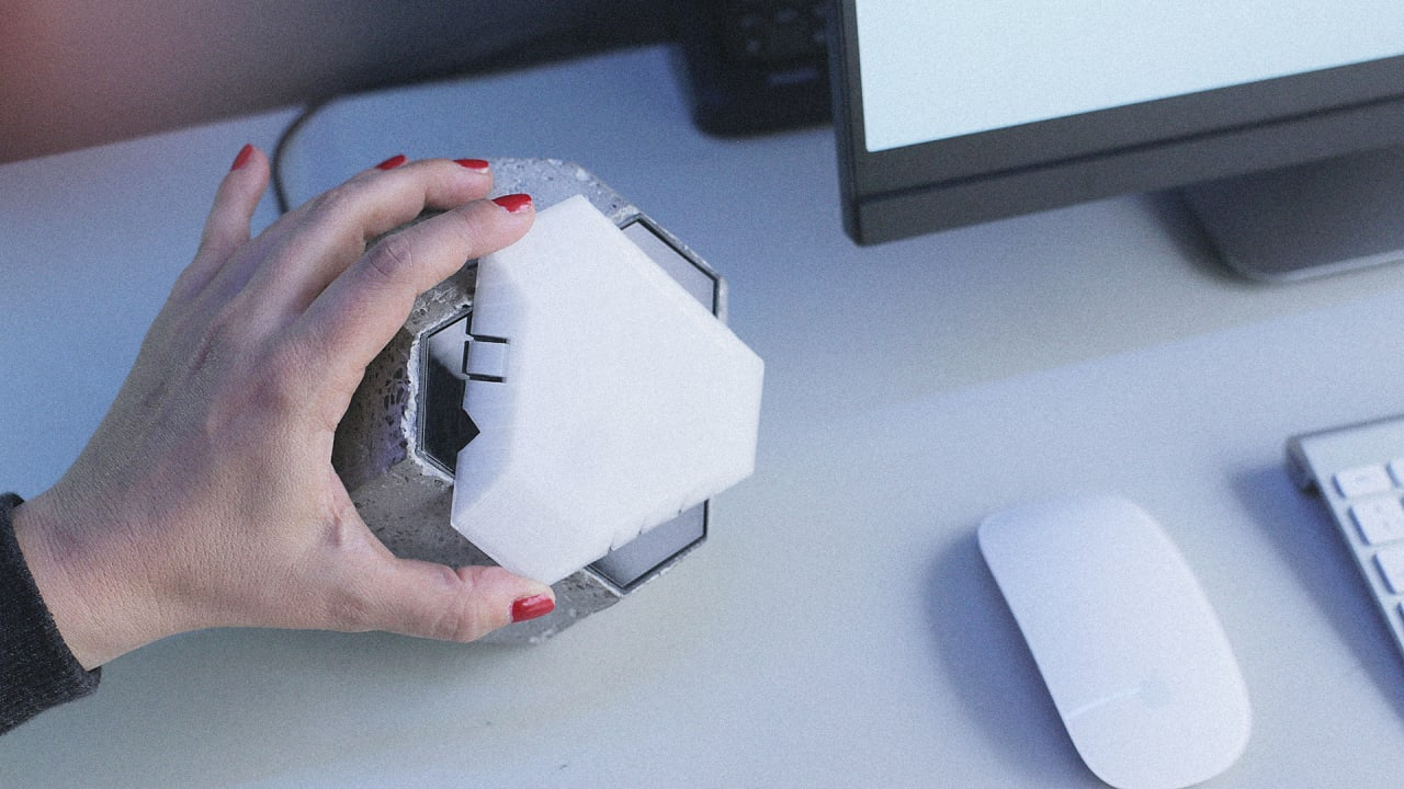 This Desktop Sculpture Encrypts Your Internet At The Flip Of A Sw…