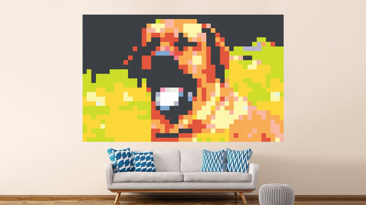 Take Your Post-it Game To The Next Level With This Giant Mural Ma…