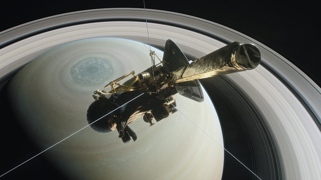 This Is Where Cassini Died And Its Legend Was Born