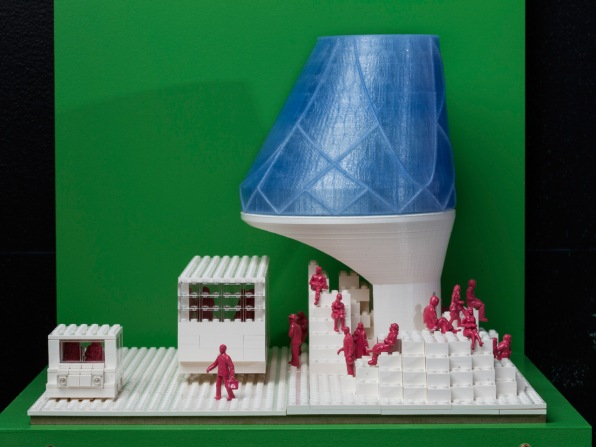 How 10 Architects Used The Same Box Of 1200 White Legos Where