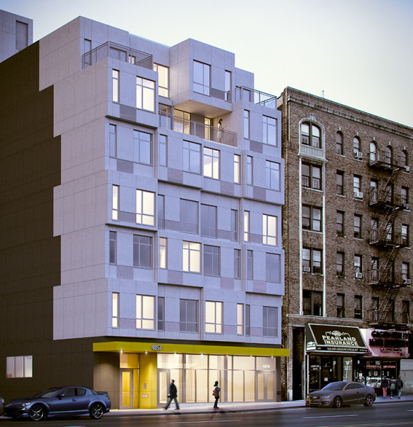 this prefab building is a first for new york