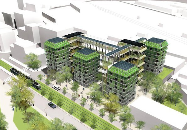 Sustainable Housing Design a new vision for sustainable urban housing combines technology