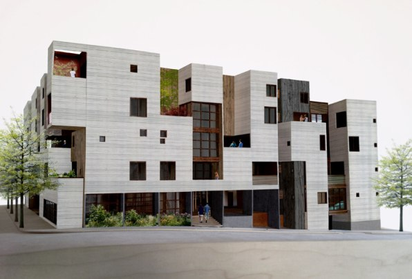 Apartment Design Requirements this new apartment building trades its parking spaces for gardens