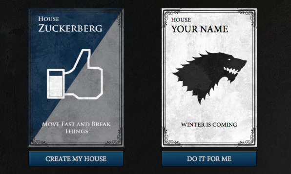 Make Your Own Game Of Thrones Style Family Crest Fast