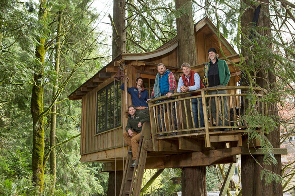 Your Childhood Dream Home The Extreme Treehouses Of Treehouse