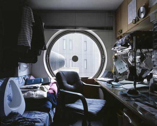 These Photos Of Tiny, Futuristic Japanese Apartments Sh ...