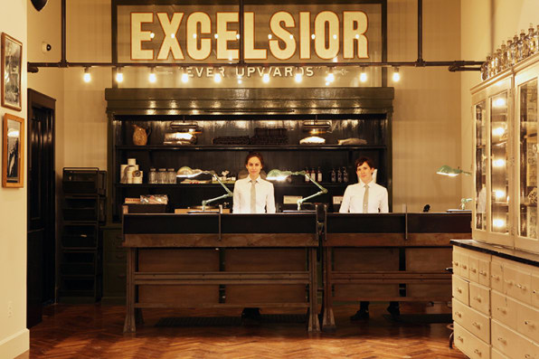 The Front Desk At Ace Hotels New York Branch
