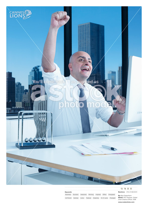 Advertising S Big Names Become Stock Photo Cartoons In