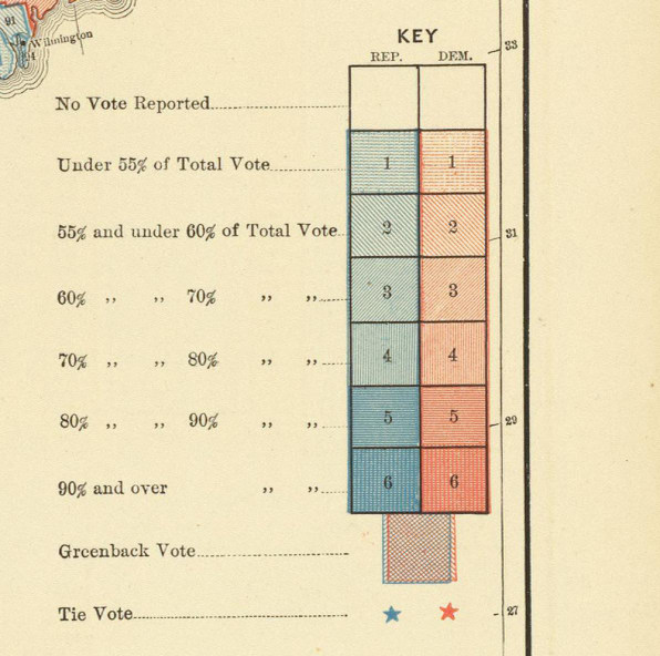 Scribner S Statistical Atlas A Hefty Tome Of Maps Published By Census Superintendent Henry Gannett In 1883 Used Census Data To Map The Returns Of The 1880