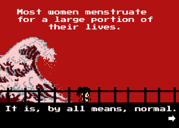 """Tampon Run,"""" A Game From Two Teenagers Who Want You To Know That ..."""