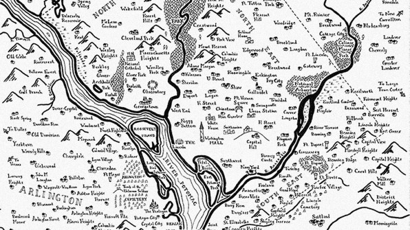 Stentor Danielson A Geographer Based In Pittsburgh Borrows Tolkien S Whimsical Cartographic Style To Map Out Major American Cities As Fantasy Lands Of