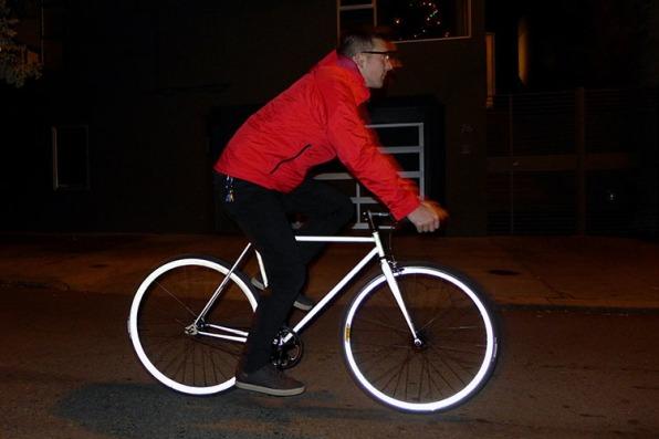 Glow In The Dark Bikes And Handlebar Hunting Trophies