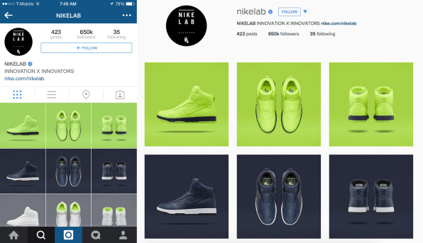 Instagrams New Design Has Bigger Images (And Room For