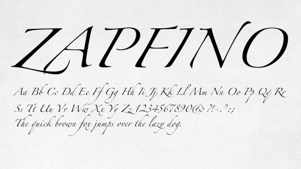 Type Legend Hermann Zapf Dies