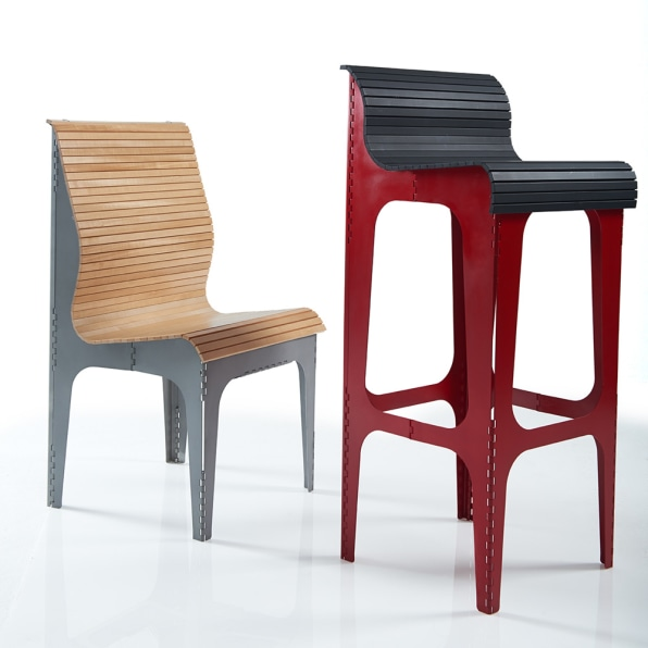 Seating Came After The Table. U201cI Didnu0027t Set Out To Do A Chair,u201d She Says.  U201cThere Are A Lot Of Folding Chairs In The World And Because Of That Very  Fact I ...