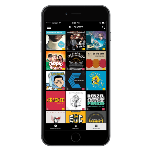 video podcast network earwolf cracked