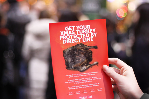 If You Ruin Your Christmas Turkey, This Insurance Brand | Fast Company