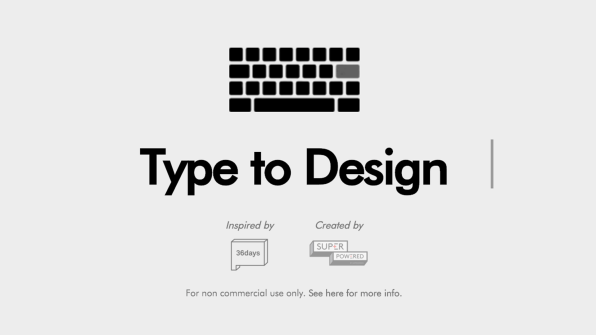 so sans and goicoechea published the submissions on instagram and gave them new life by building a website that turns the project into a typographic