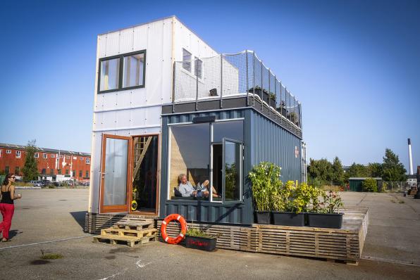 В этом учебном году студентов вузов Копенгагена будут заселять в переоборудованные контейнеры