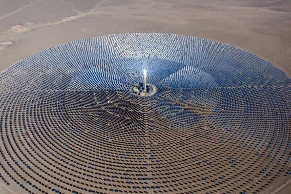 This Huge New Solar Farm Near Las Vegas Provides Power