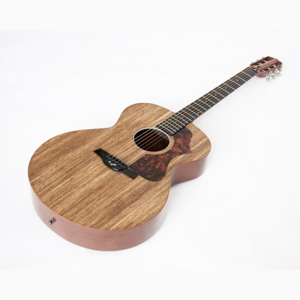 This Beautiful Guitar Is Made From Linen Fibers And