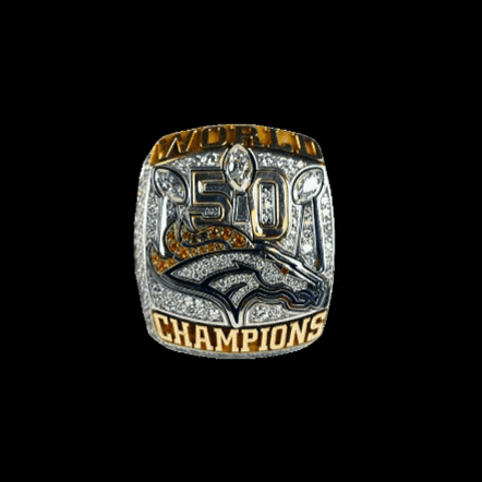 First Person With  Superbowl Rings