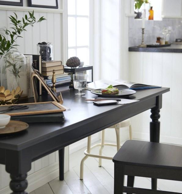 ikea furniture catalog. photo ikea furniture catalog
