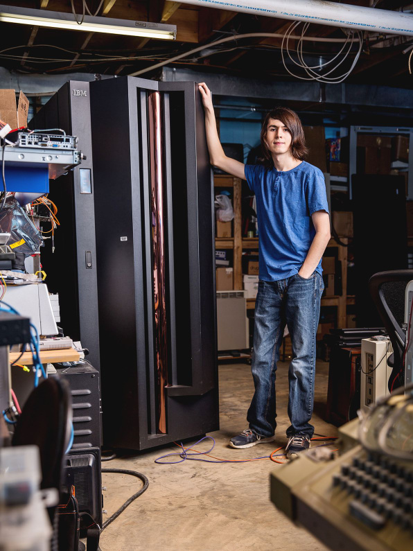 this teenage ibm employee got his job by buying an old mainframe