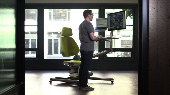 we have reached peak office chair