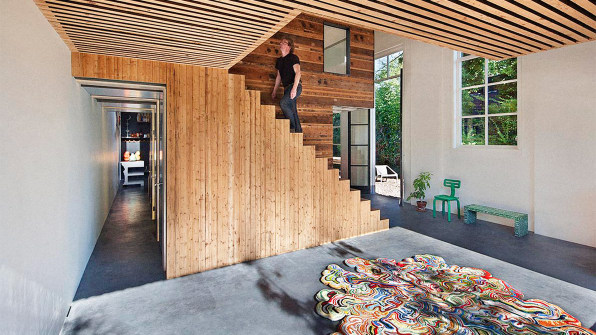 A Dutch House Made From Demolished Office Located In Utrecht The Netherlands Of Rolf Has Past Life As An Building