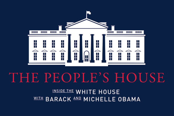 As obama leaves he leads tour of the people s white for 360 degree house tour
