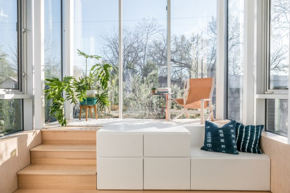 Marvelous The Human Centered Design Makes The Tiny Size Livable. Because The Kitchen  Is Slightly Elevated From The Main Floor, A Queen Sized Bed Can Slide Out  From ...