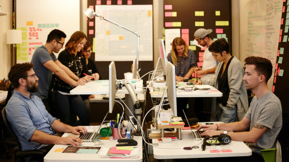 IDEO launched Creative Difference out of its San Francisco office, with the holding company Intercorp as its pilot partner, in 2015.Photo: IDEO