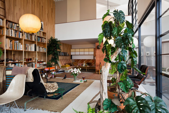 Eames Interior Design check out this replica of charles and ray eames's living room